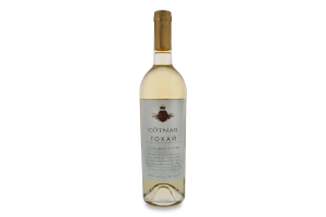 Вино 0.75л 10-12% біле напівсолодке Токай Мускат Cotnar пл