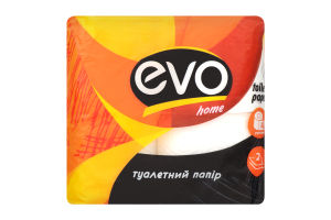 Туалетний папір ТМ «EVO HOME» 2сл