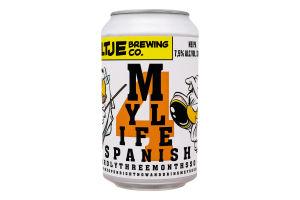 Пиво Uiltje My Life Span 4 светлое ж/б