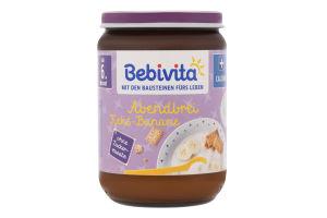 Каша молочная с печеньем для детей от 6мес Спокойной ночи Bebivita с/б 190г