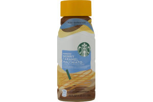 Starbucks Chilled Espresso Beverage Skinny Caramel Macchiato