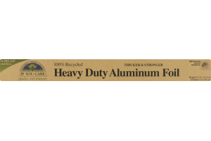 If You Care 100% Recycled Heavy Duty Aluminum Foil