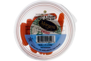 Nature's Kitchen Carrot & Celery Sticks with Dip