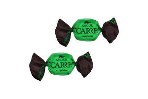Цукерки «CARRE Amour» з горіхом ваг.