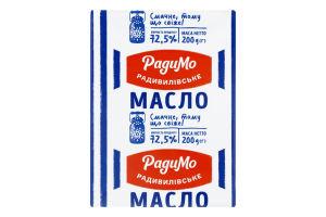 Масло солодковершкове 72.5% Селянське РадиМо м/у 200г