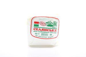 Масло 73% сладкосливочное Крестьянское Paolo м/у 500г