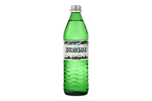 Вода мінеральна сильногазована Лужанська-3 Аква Поляна с/пл 0.5л