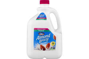 Blue Diamond Almonds Almond Breeze Almondmilk Original Unsweetened