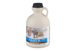 Cary's Organic 100% Pure Maple Syrup