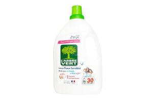 Засіб рідкий для прання Larbre Vert Чутлива шкіра 30 використань 2л