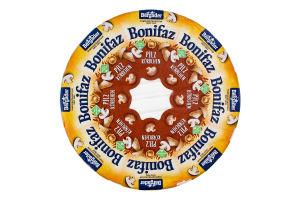 Сир 70% з грибами Bonifaz Bergader кг