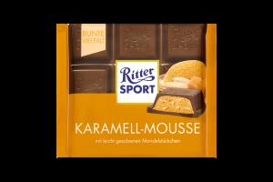 Шоколад молочний Karamel Mousse Ritter Sport 100г