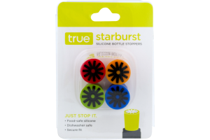 True Silicone Cork Stoppers - 4 CT