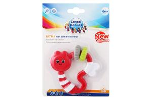 Погремушка для детей от 0мес с прорезывателем №56/141 Canpol babies 1шт
