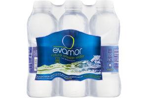 Evamor Natural Artesian Water - 6 CT