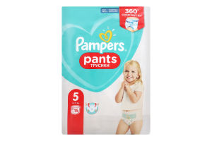 Підгузники Pampers pants трусики розмір 5 junior 15 шт.х6