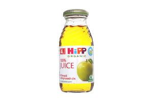 Сок для детей от 4мес яблочный мягкий Hipp с/бут 0.2л
