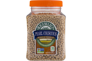 Riceselect Pearl Couscous Whole Wheat Riceselect 74401744085 Customers Reviews Listex Online