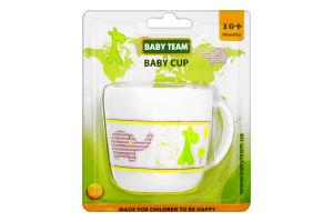 Чашка дитяча 10+ №6006 Baby Team 200мл
