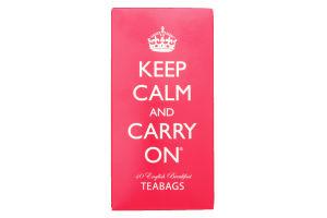 Чай черный Keep Calm And Carry On English Breakfas