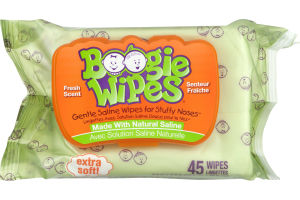 Boogie Wipes Fresh Scent - 45 CT