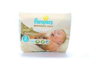 Подгузники детские 3-6кг Mini Premium care Pampers 32шт