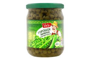 ВАРТО Горошок зелений консерви стерилiзованi с/б 460 г