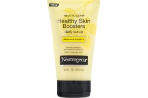 Neutrogena Healthy Skin Boosters Daily Scrub White Tea & Vitamin E
