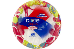 Dixie Ultra Plates Ultimate Strength - 20 CT