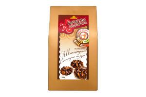 Печиво пісочне З шоколадом в шоколадній глазурі Корисна Кондитерська к/у 130г