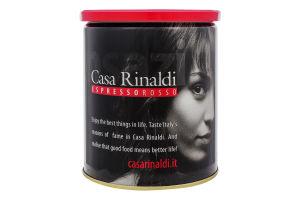 Кофе молотый Espresso Rosso Casa Rinaldi ж/б 250г