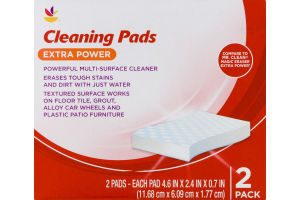 Ahold Cleaning Pads Extra Power - 2 PK