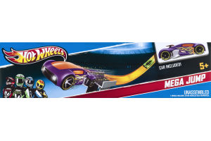 Hot Wheels Mega Jump Kit with Car Ages 5+