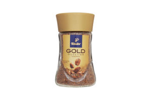 Кава натуральна розчинна сублімована Gold Selection Tchibo с/б 50г