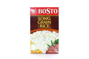 Рис длиннозернистый в пакетиках Bosto к/у 8х125г