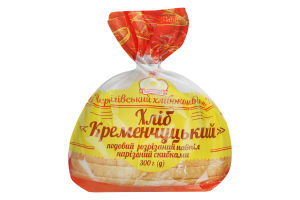 Хліб половинка в нарізці подовий Кременчуцький Формула смаку м/у 300г