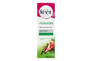Крем для депиляции для чувствительной кожи Naturals Veet 100мл