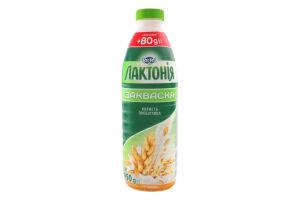Закваска 1.5% с пребиотиком Злаки Лактонія п/бут 950г