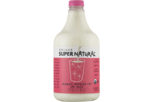 Kalona Super Natural Organic Reduced Fat 2% Milk