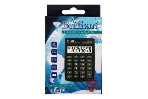 Калькулятор електронний №BS-100 Brilliant 1шт