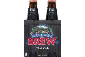 Brew Natural Chai Cola - 4 PK