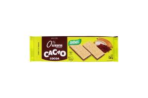 Вафлі кремові без цукру Chocolate Rellenas Santiveri м/у 120г