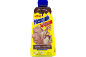 Nestle Nessquik Chocolate Syrup