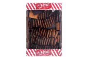 Печиво здобне зі смаком чорної смородини Маргаритка Delicia к/у 1.1кг