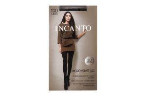 Колготки жіночі Incanto Micro Velvet 100den 3-M Nero