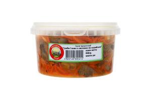 Салат закусочный Грибы вешенки с овощами по-корейски Ноосфера-Агро п/у 500г