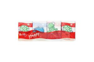 Хустинки гігієнічні Happy mini babi Bella 10*8см
