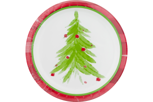 Smart Living Dinner Paper Plates Watercolor - 8 CT