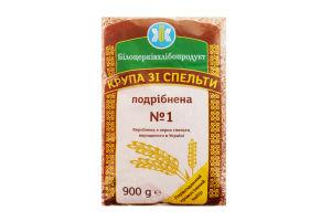 Крупа из спельты измельченная №1 Білоцерківхлібопродукт м/у 900г