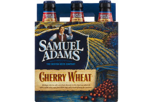 Samuel Adams Cherry Wheat - 6 PK